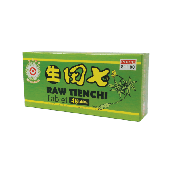 Raw Tienchi Tablet (48/ 60/ 1000 Tablets)
