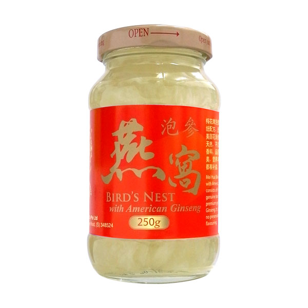 Bird's Nest with American Ginseng (250g)