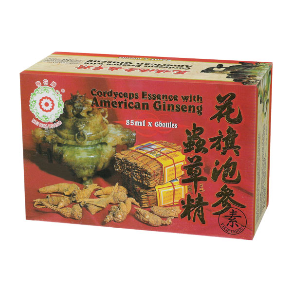 Cordyceps Essence with American Ginseng (85ml x 6 Bottles)