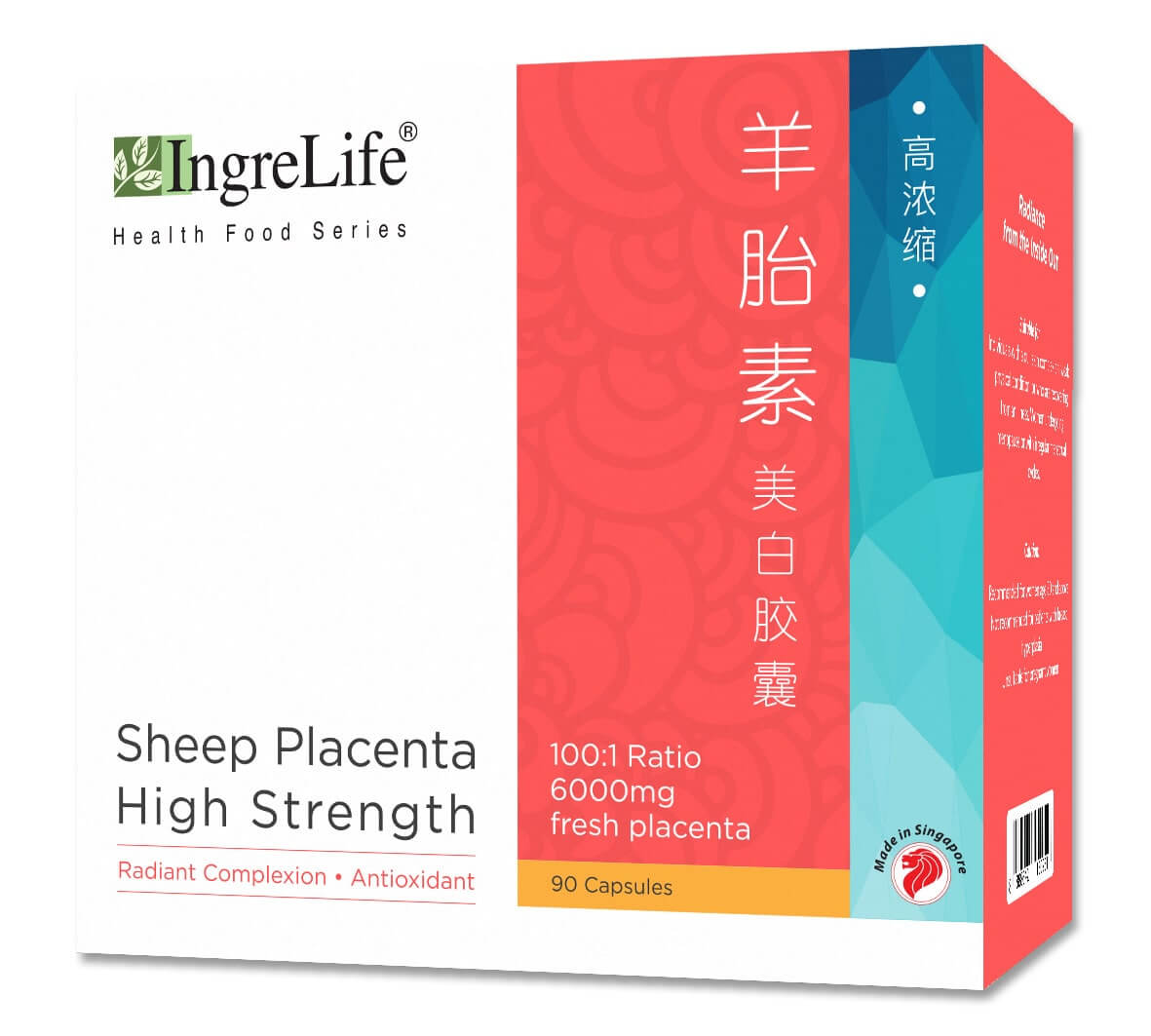 Sheep Placenta High Strength (90 Capsules)